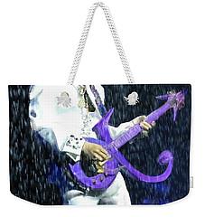 Prince 1958 - 2016 Weekender Tote Bag by Vannetta Ferguson