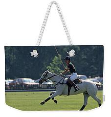 Prince Charles Playing Polo At Windsor Weekender Tote Bag
