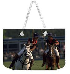 Prince Charles Playing Polo Weekender Tote Bag