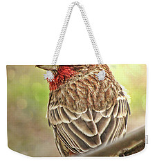 Weekender Tote Bag featuring the photograph Prince  by Debbie Portwood