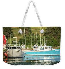 Prince Edward Island Lobaster Boats Weekender Tote Bag