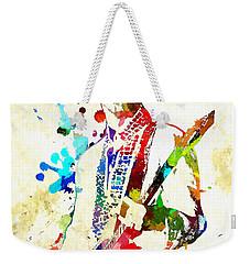 Prince In Concert Weekender Tote Bag
