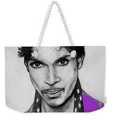 Prince In Purple Weekender Tote Bag