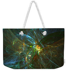 Weekender Tote Bag featuring the digital art Prince Of Andromeda by Jeff Iverson