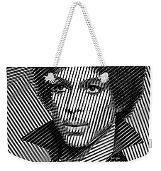 Prince - Tribute In Black And White Sketch Weekender Tote Bag