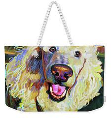 Princely Poodle Weekender Tote Bag
