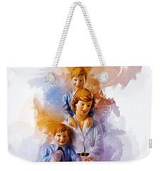 Princess Diana And Children Weekender Tote Bag