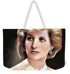 Princess Diana Weekender Tote Bag by Pennie  McCracken