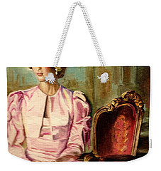 Princess Diana The Peoples Princess Weekender Tote Bag by Carole Spandau