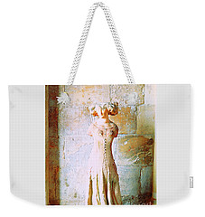 Princess In The Shadow Of Antiquity Weekender Tote Bag by Ann Johndro-Collins