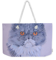 Weekender Tote Bag featuring the pastel Princess by Laurianna Taylor