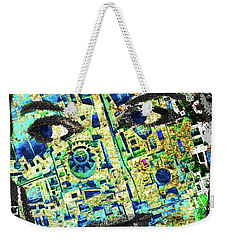 Weekender Tote Bag featuring the mixed media Princess by Tony Rubino