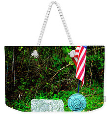 Weekender Tote Bag featuring the photograph Princess White Feather by Paul W Faust - Impressions of Light