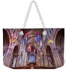 The Chapel At Princeton Aisle Weekender Tote Bag