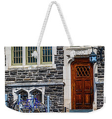 Weekender Tote Bag featuring the photograph Princeton University Patton Hall No 9 by Susan Candelario