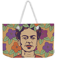 Print Weekender Tote Bag