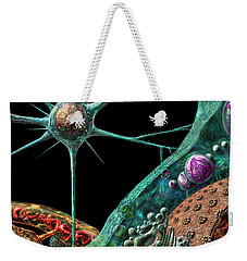Prions Weekender Tote Bag by Russell Kightley