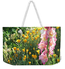 Priscilla With Poppies Weekender Tote Bag