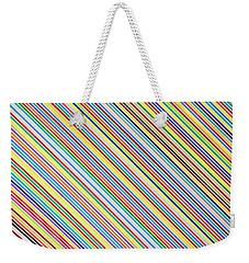 Prism Rain Weekender Tote Bag