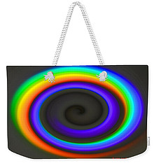 Spectrum Twirl Weekender Tote Bag