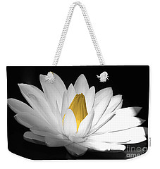 Pristine Weekender Tote Bag by Cindy Manero