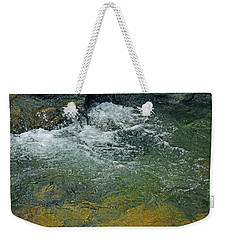 Weekender Tote Bag featuring the photograph Pristine by Lynda Lehmann