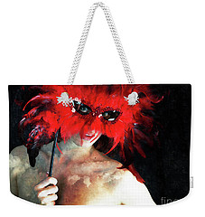 Weekender Tote Bag featuring the photograph Private Masquerade  by Jacob Smith