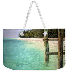 Private Out Island In The Bahamas Weekender Tote Bag