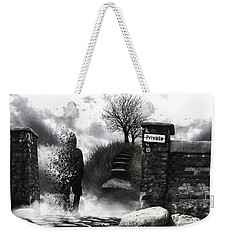 Private Way  Weekender Tote Bag by Mariusz Zawadzki
