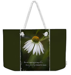 Privileged Weekender Tote Bag
