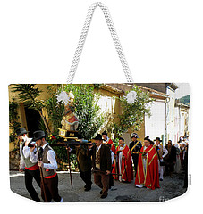 Procession Of Saint Clement Weekender Tote Bag