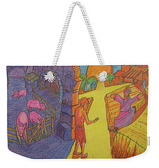 Prodigal Son Parable Painting By Bertram Poole Weekender Tote Bag by Thomas Bertram POOLE