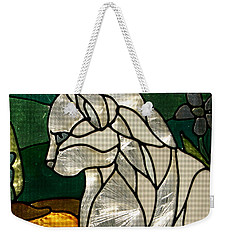 Profile Of A Cat Weekender Tote Bag