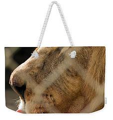 Profile Of A King Weekender Tote Bag