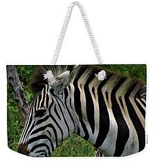 Profile Zebra Weekender Tote Bag