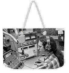 Progressive Rock Disc Jockey, 1975 Weekender Tote Bag