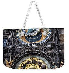 Progue Astronomical Clock Weekender Tote Bag