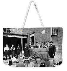 Prohibition, 1922 - To License For Professional Use Visit Granger.com Weekender Tote Bag