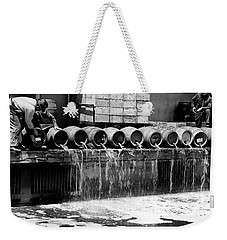 Prohibition Keg Dump Weekender Tote Bag