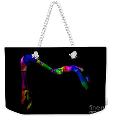Projected Body Paint 2094947a Weekender Tote Bag