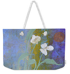 Weekender Tote Bag featuring the painting Promise by Robin Maria Pedrero