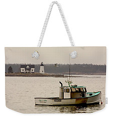 Prospect Harbor Lighthouse Weekender Tote Bag
