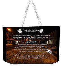 Prostitutes In Heaven Weekender Tote Bag
