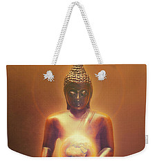Protecting Earth Weekender Tote Bag by Wim Lanclus