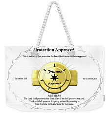Protection Approved Weekender Tote Bag
