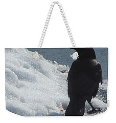 Proud Crow Weekender Tote Bag by Betty Pieper