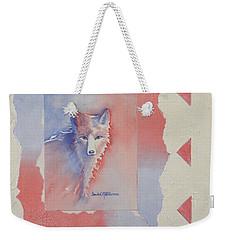 Proud Fox Weekender Tote Bag