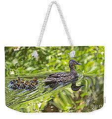 Weekender Tote Bag featuring the photograph Proud Mama by Kate Brown