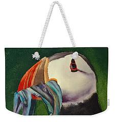 Proud Puffin Weekender Tote Bag