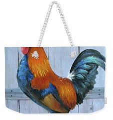 Proud Rooster Weekender Tote Bag by Oz Freedgood